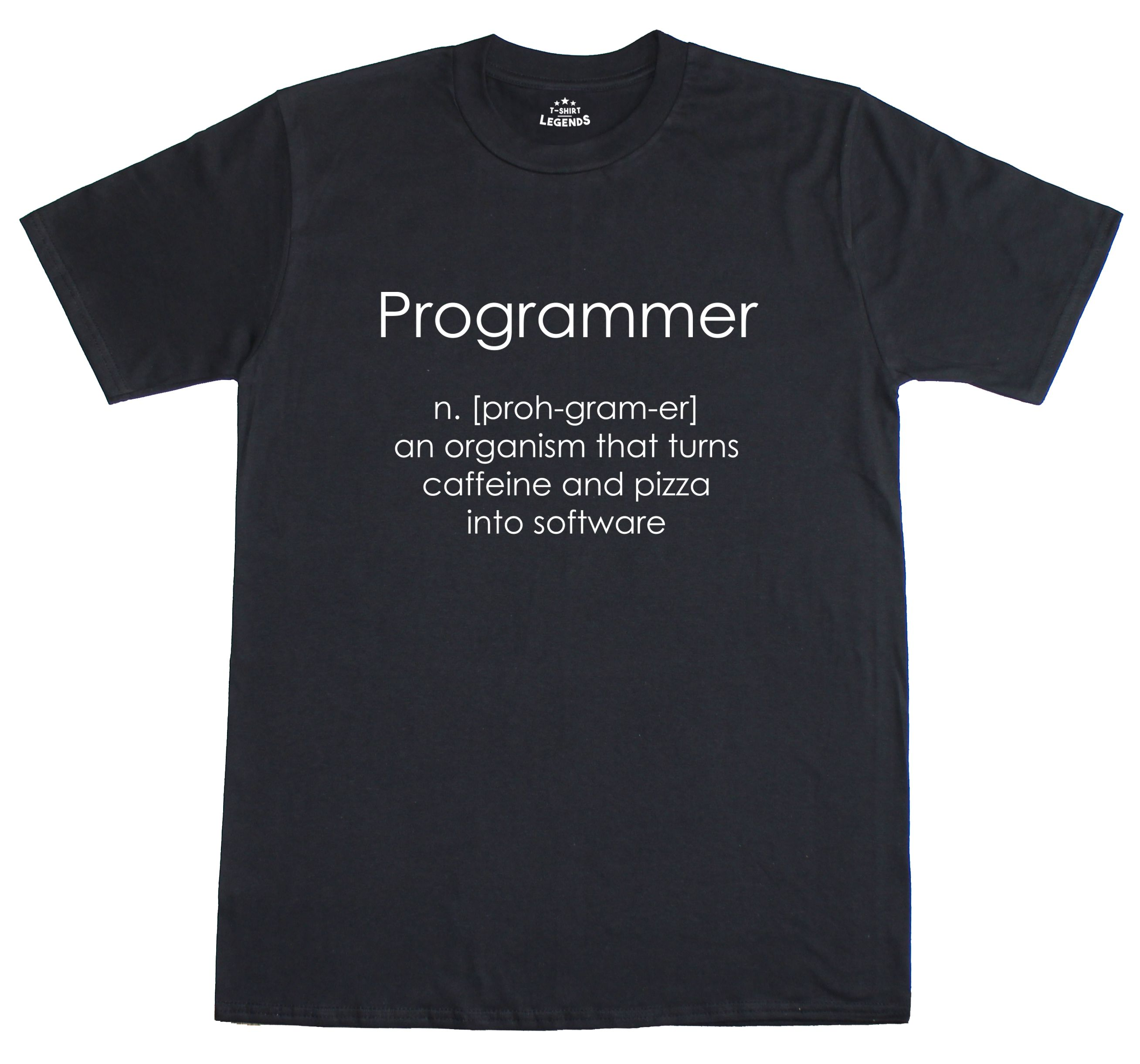 Programmer Coder Software Engineer Loose Fit Funny Mens T ...